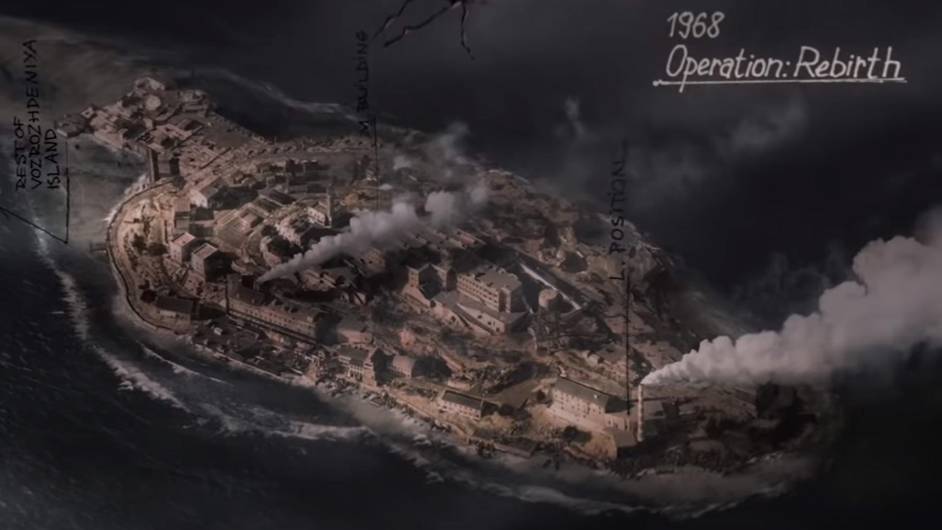 Zone de guerre de l'île de la renaissance