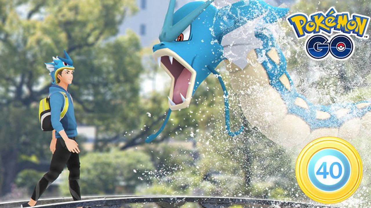 Recherche et récompenses chronométrées du défi Pokemon GO Legacy 40