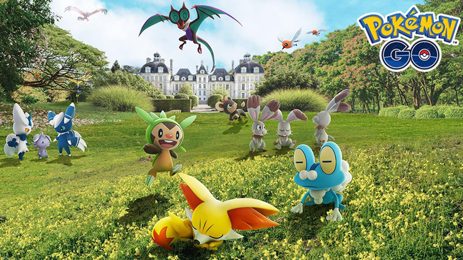 Tâches de recherche et récompenses de l'événement de célébration Pokemon GO Kalos