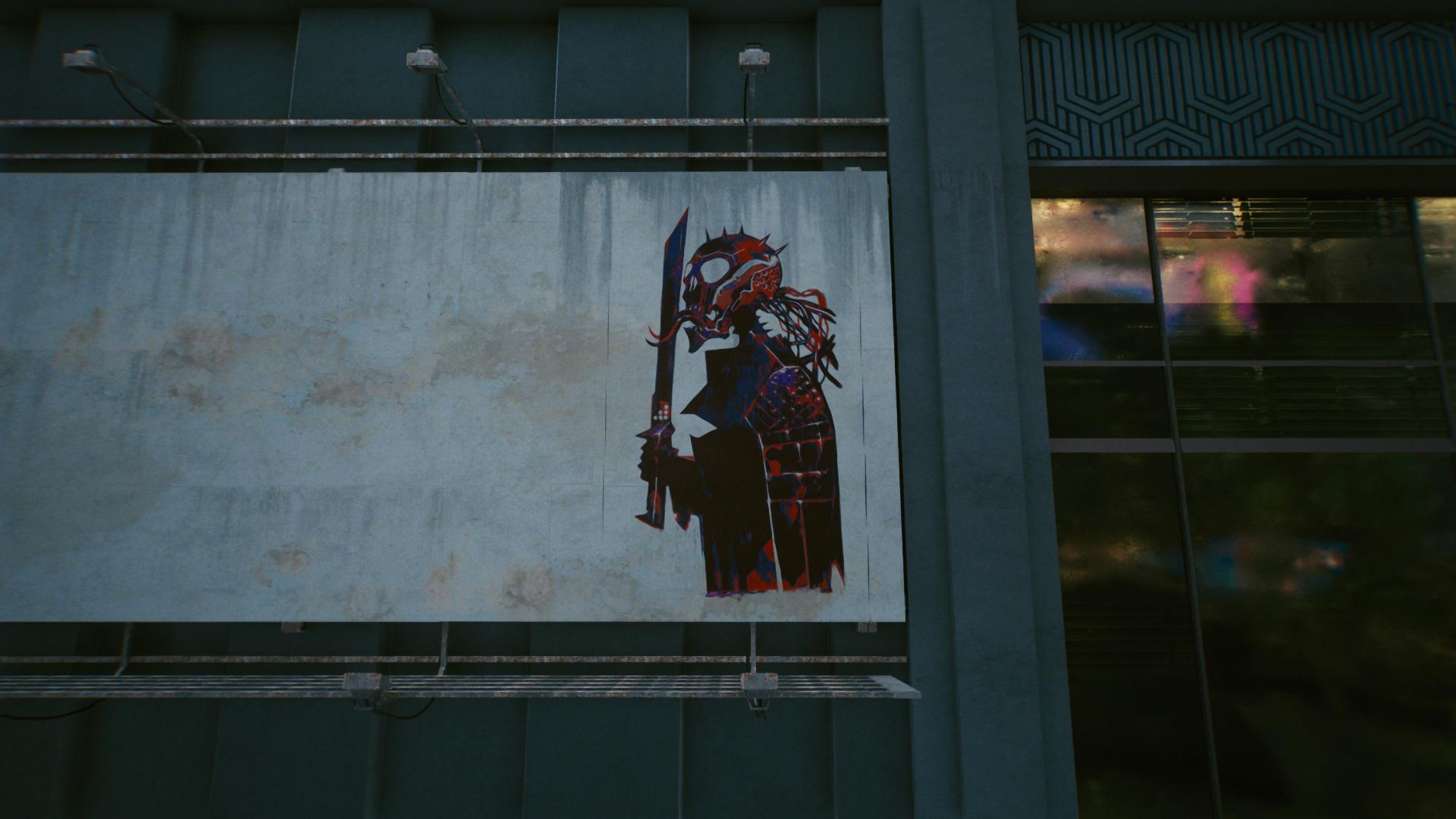 Tous les emplacements de murales de graffitis de cartes de tarot dans Cyberpunk 2077