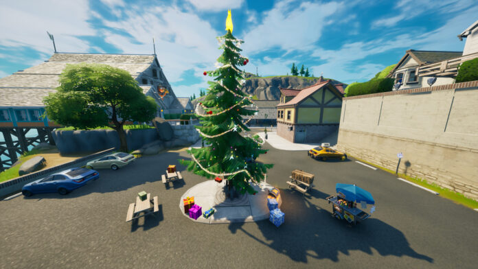 All Holiday Trees Locations in Fortnite