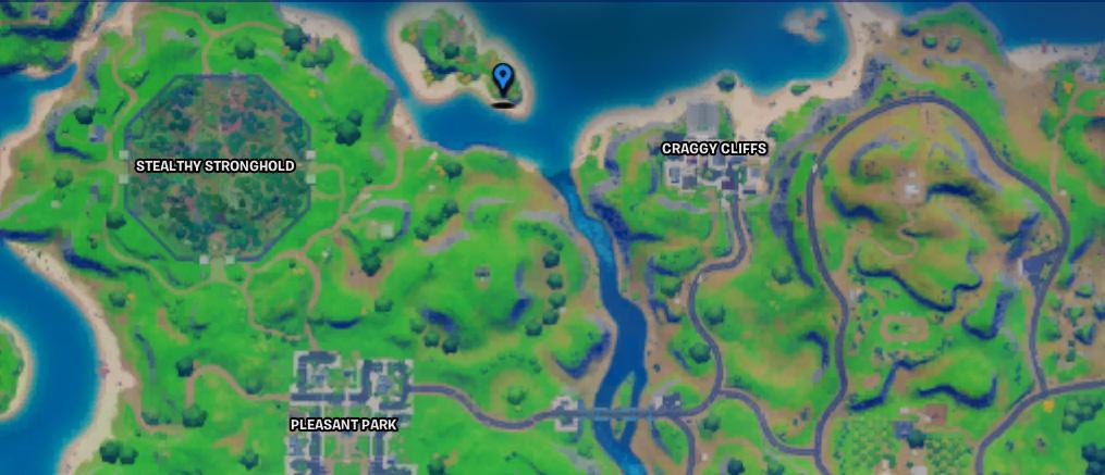 Où trouver un bunker caché à Fortnite - Carte