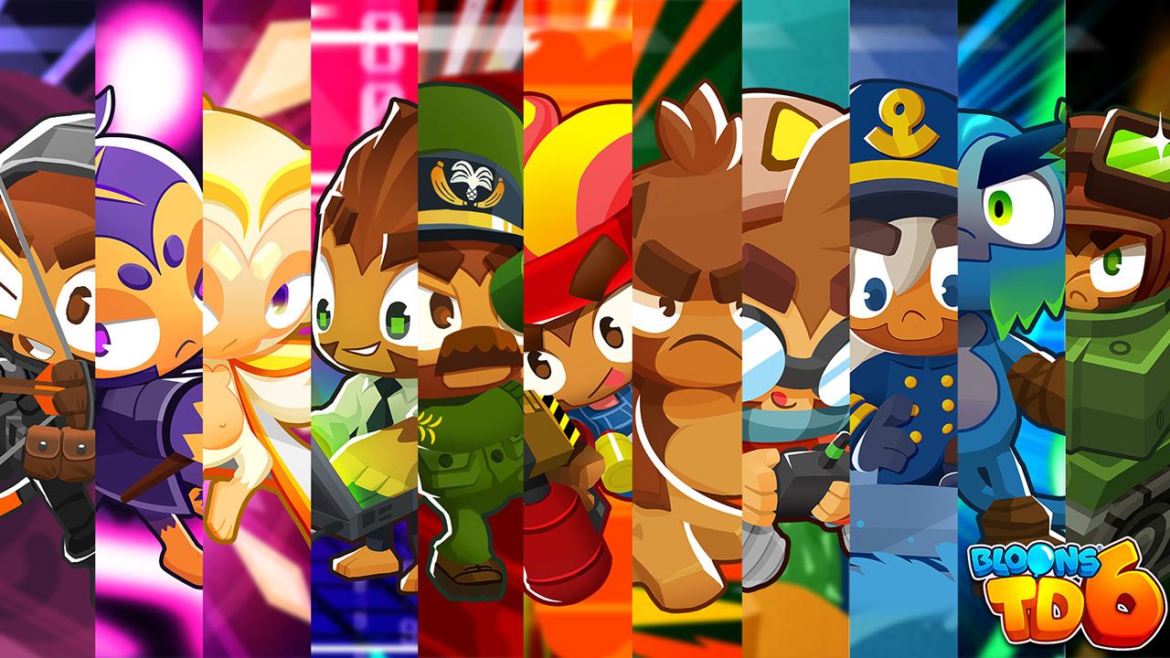 Liste des niveaux Bloons TD 6 Monkey and Hero et meilleurs combos
