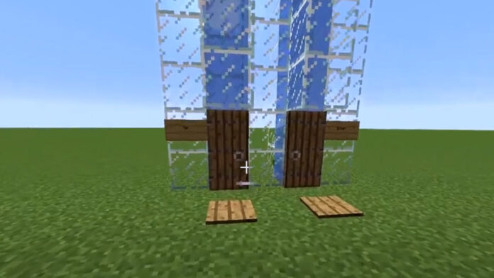 How to Craft a Simple Water Elevator in Minecraft