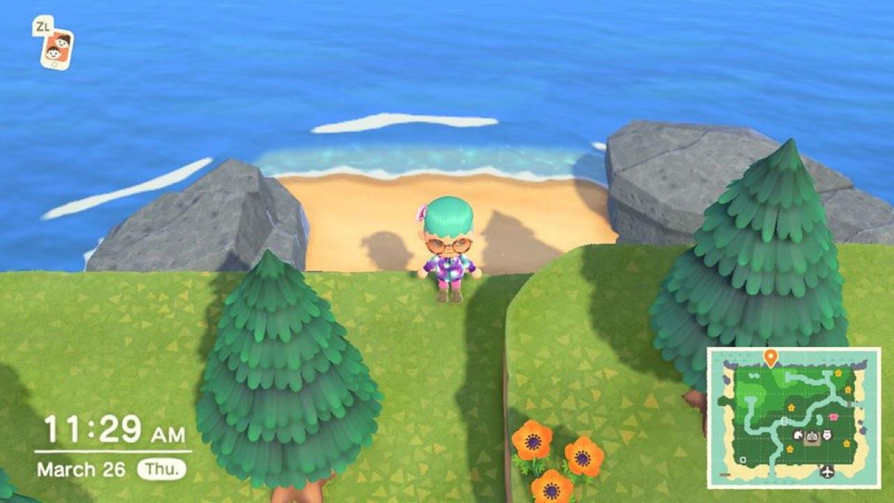 Comment trouver votre plage secrète dans Animal Crossing New Horizons