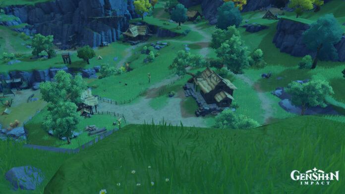 Genshin Impact Lost Riches Treasure Area 7 emplacements dans le village de Mingyun
