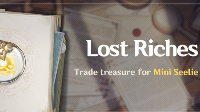 Genshin Impact Lost Riches Event Guide