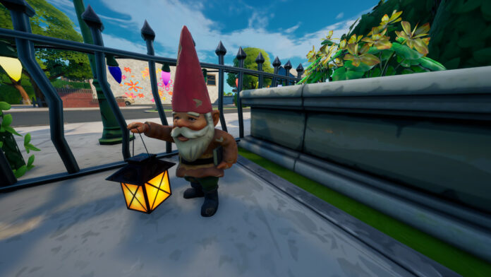 Where to Collect Gnomes from Fort Crumpet and Holly Hedges in Fortnite