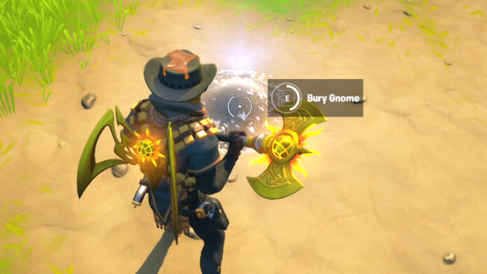 Where to Bury Gnomes in Pleasant Park or Retail Row in Fortnite
