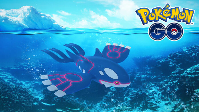Pokemon GO: Kyogre Counters and Moveset