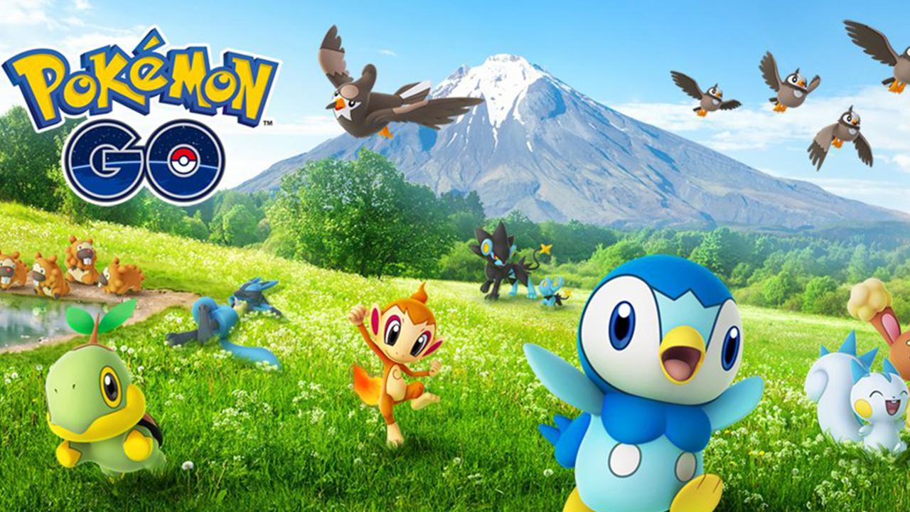 Recherche et récompenses sur le terrain de l'événement de célébration Pokemon GO Sinnoh