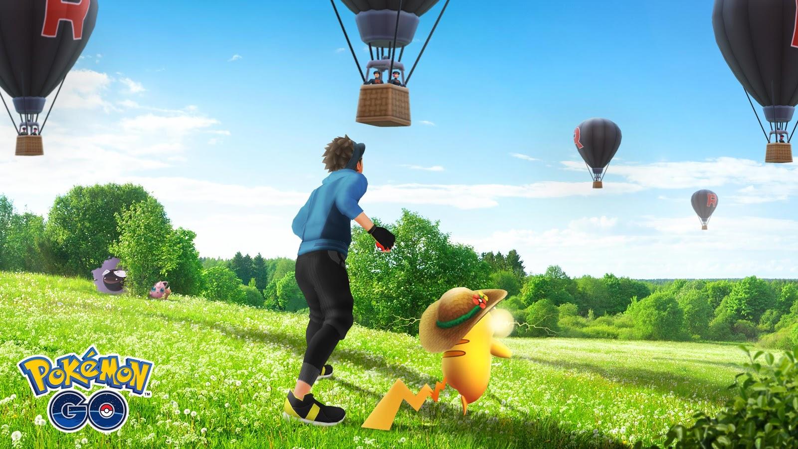 Taux d'apparition des ballons de la Pokémon GO Team Rocket