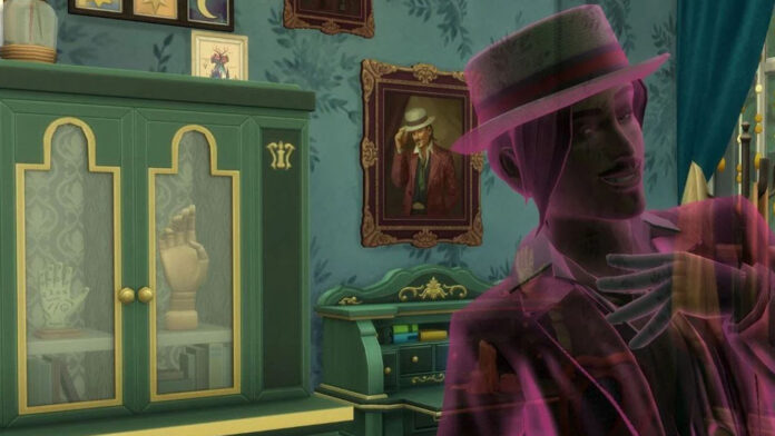How to Summon Guidry the Ghost in The Sims 4: Paranormal
