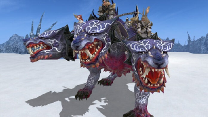How to get the Cerberus Mount in Final Fantasy XIV