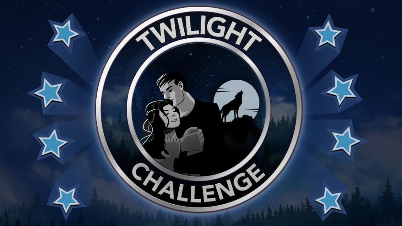 Comment relever le défi Twilight dans BitLife