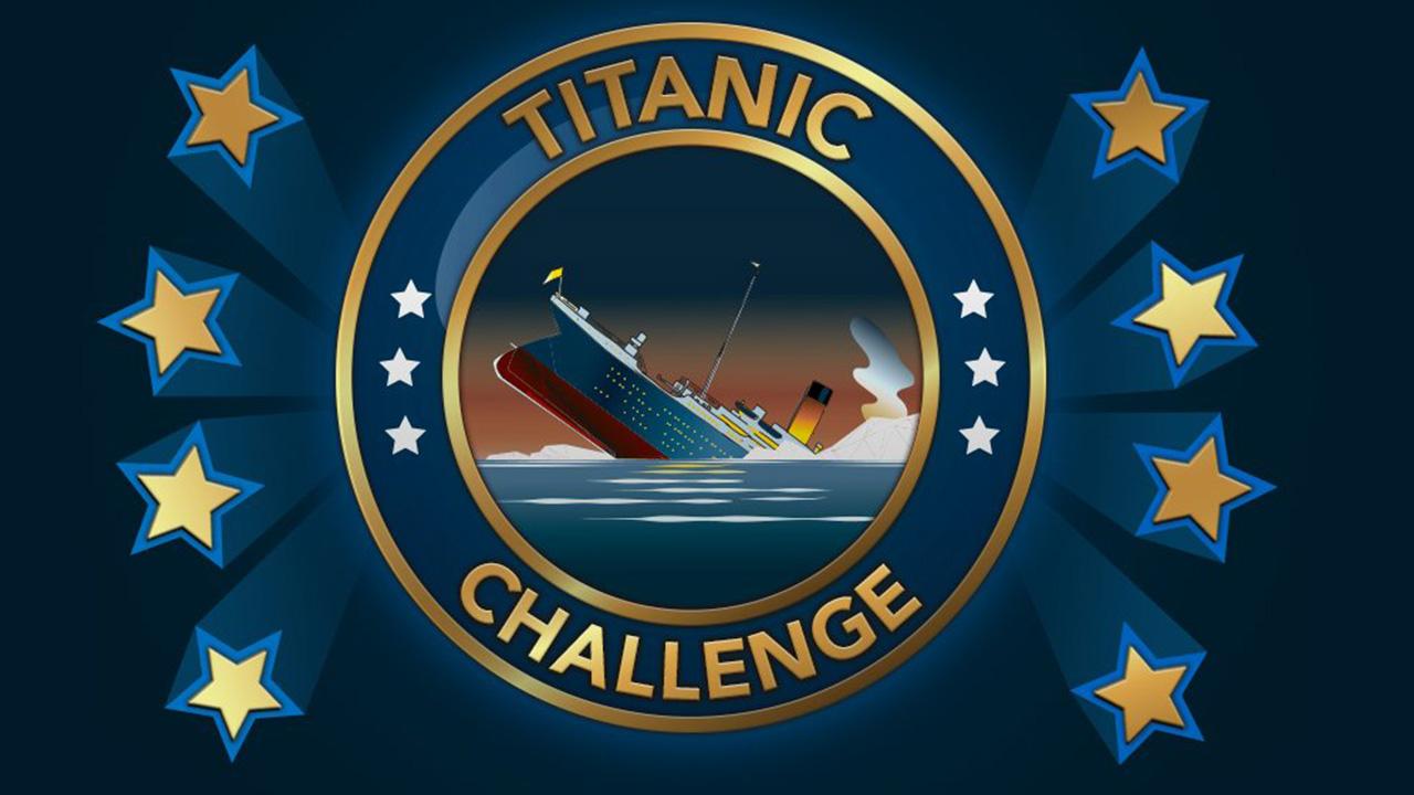 Comment terminer le défi Titanic dans BitLife