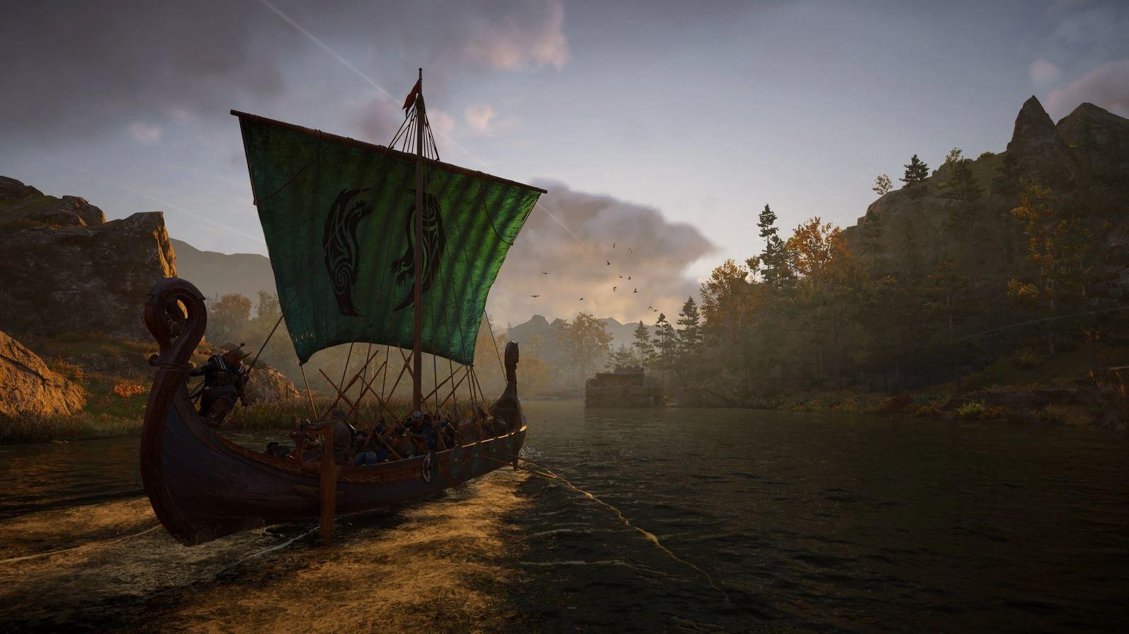 Où trouver l'indice de la carte River Exe dans Assassin's Creed Valhalla