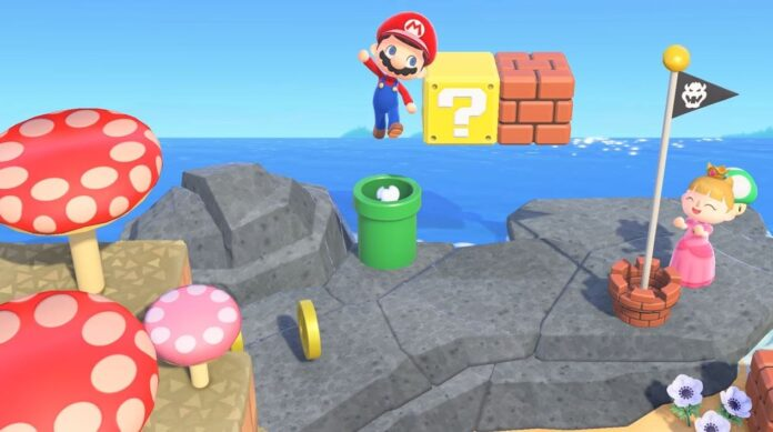 Comment obtenir des objets Mario dans Animal Crossing New Horizons