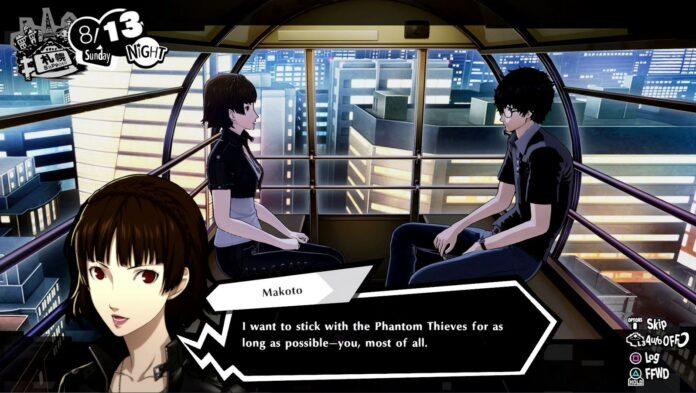 Persona 5 Strikers a-t-il des options romantiques?