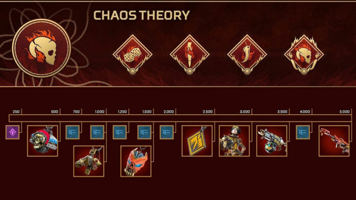Apex Legends Chaos Theory Collection Event Prize Tracker Récompenses