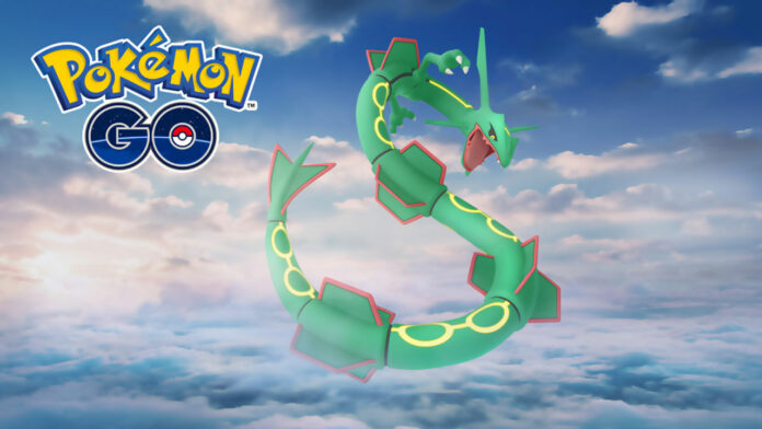 Week-end de raid spécial Pokemon GO Rayquaza