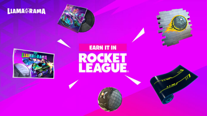 Fortnite x Rocket League Llama-Rama 2021 Défis et récompenses