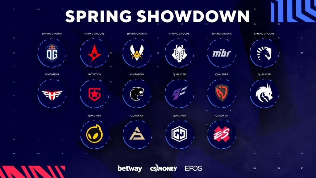 Les équipes de Blast Premier Spring Showdown 2021 planifient comment regarder la cagnotte au format