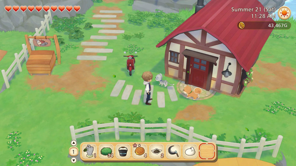 Comment équiper les outils dans Story of Seasons: Pioneers of Olive Town