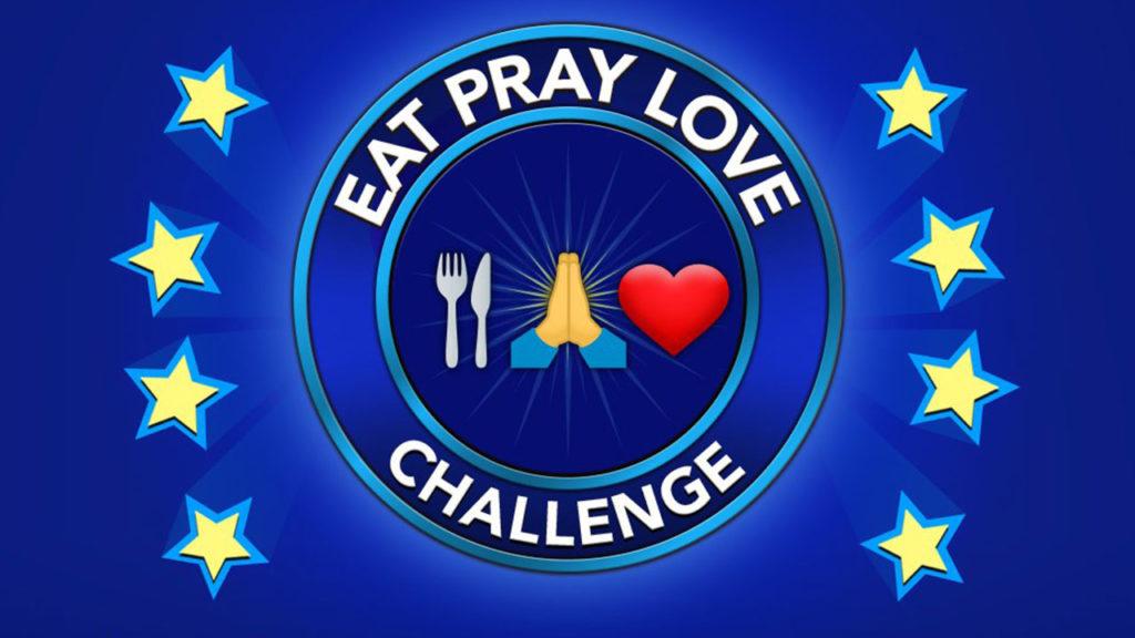 Comment relever le défi Eat Pray Love dans BitLife