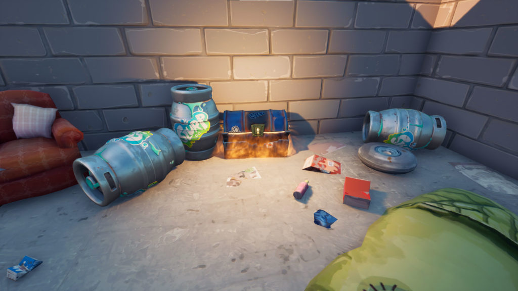 Emplacements des coffres de bunker dans Fortnite Chapter 2 Saison 6
