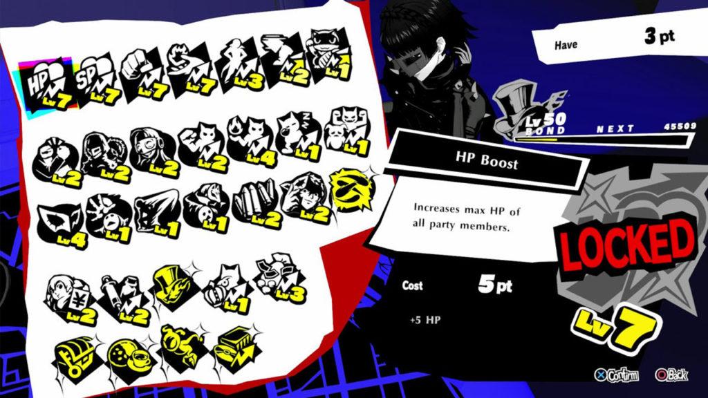 Les meilleures compétences de liaison dans Persona 5 Strikers