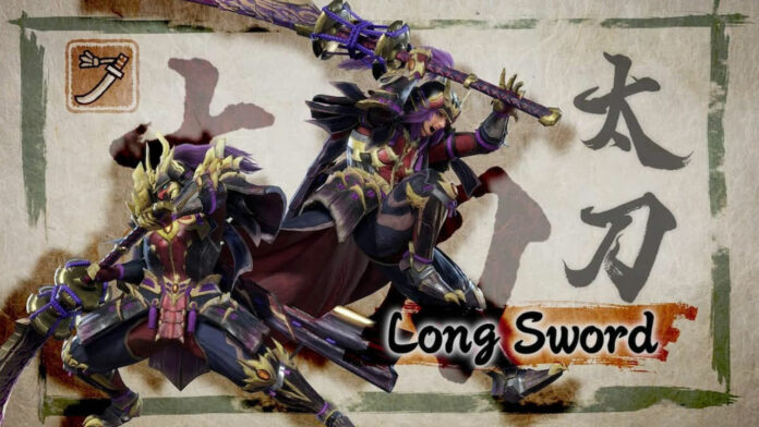 Monster Hunter Rise Long Sword Moveset