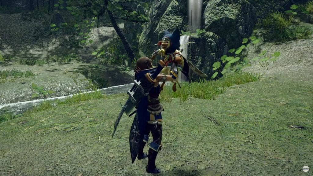 Types de support Palico dans Monster Hunter Rise