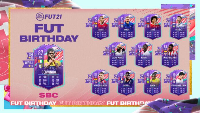 FIFA 21 Gervinho Birthday SBC: Solutions, récompenses, statistiques les moins chères