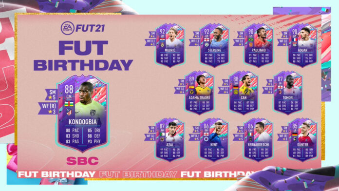 FIFA 21 Kondogbia Birthday SBC: Solutions, récompenses, statistiques les moins chères