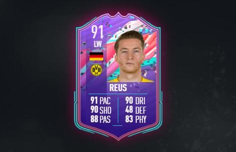 FIFA 21 Marco Reus Birthday SBC: Solutions, récompenses, statistiques les moins chères
