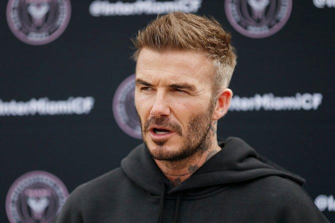 L'équipe de montage de David Beckham pour le documentaire sur David Beckham