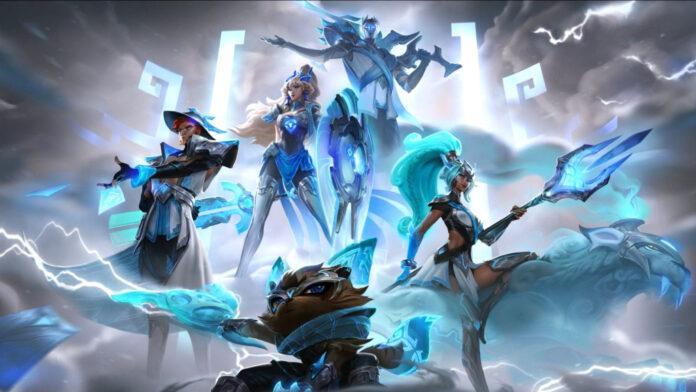 Les skins de victoire du champion du monde 2020 de Damwon Gaming dévoilés