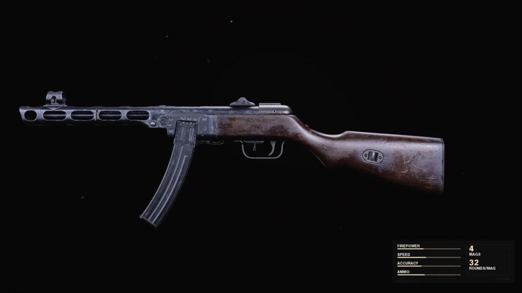 Meilleur chargement PPSh-41 dans Warzone