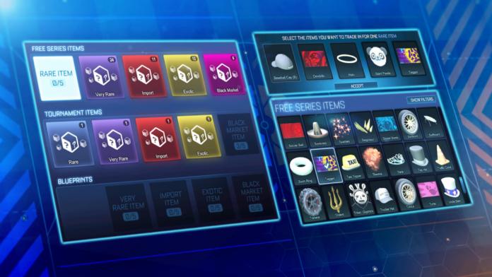 Mise à jour de Rocket League Trade In: nouveau menu et système expliqués, comment fonctionne la non-caisse, date de sortie et plus