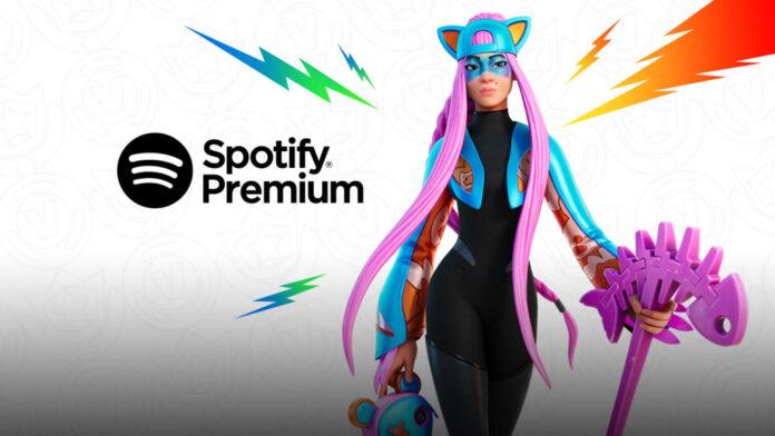 Obtenez Spotify Premium gratuitement avec le Fortnite Crew