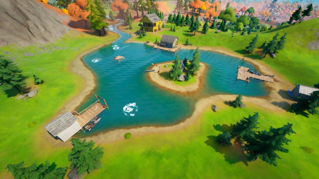 Où est Lake Canoe à Fortnite?