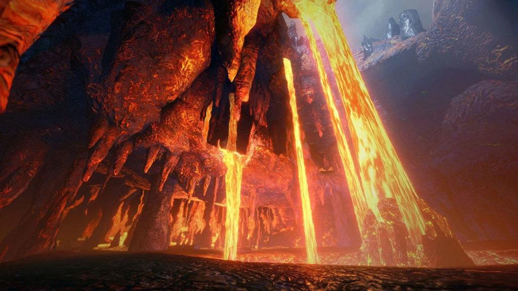 Où trouver du minerai de dragonite dans Monster Hunter Rise