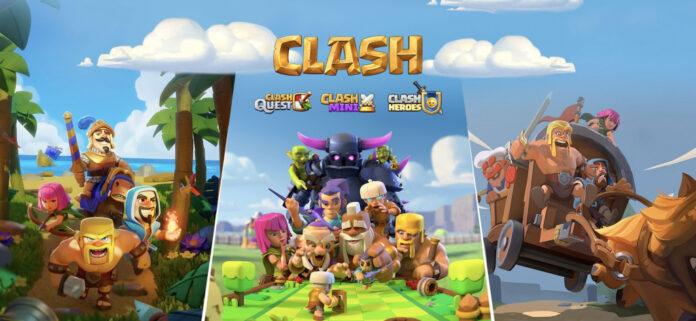 Supercell annonce trois nouveaux jeux dans l'univers de Clash