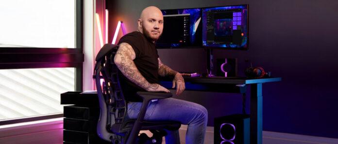 TimTheTatman x Herman Miller, streamer deviendra le premier ambassadeur des Global Games