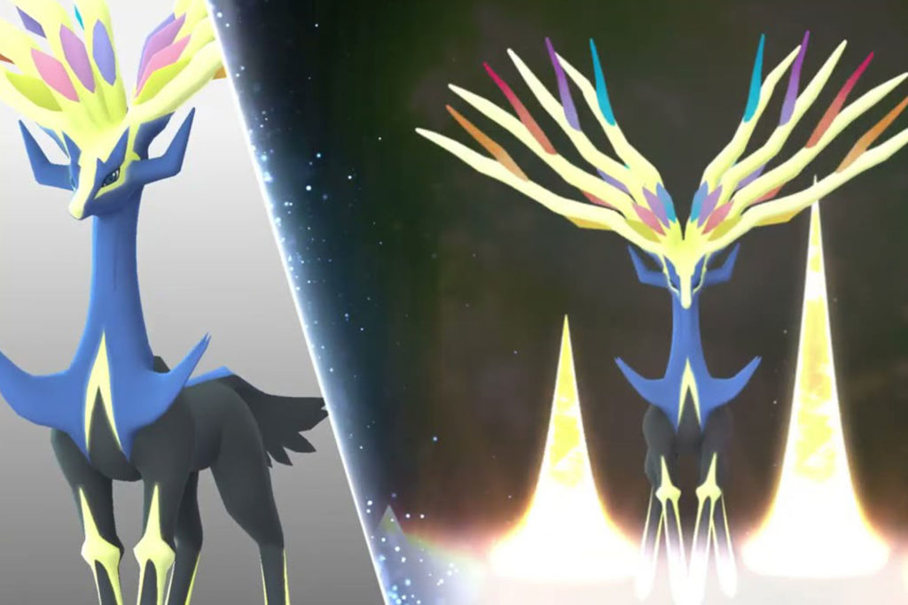 Pokemon Go Légendes lumineuses X