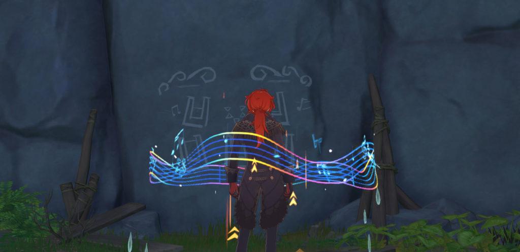 Genshin Impact Broken Isle Puzzle: prenez une photo des dessins muraux