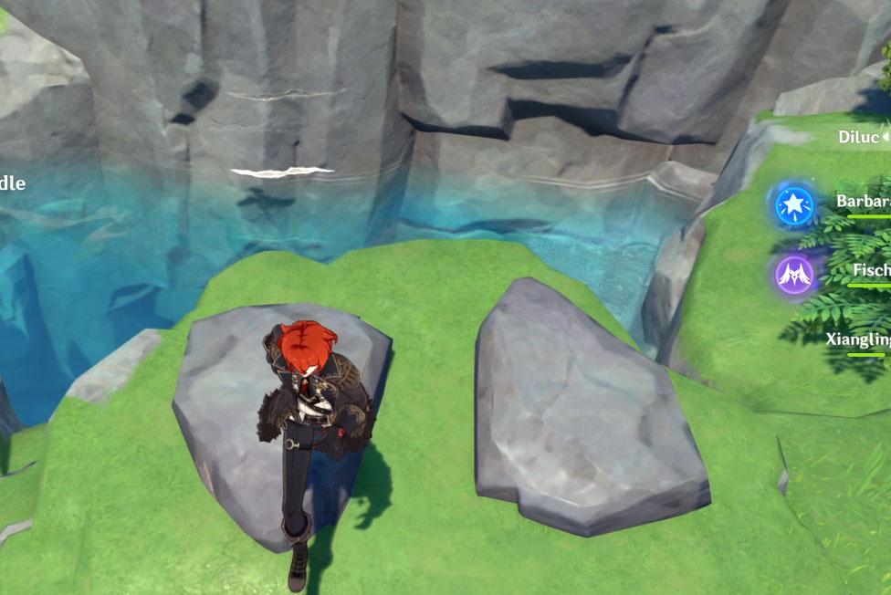 Genshin Impact Broken Isle Puzzle Solution East Pond