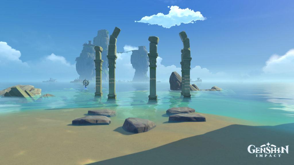 Genshin Impact: Solution de puzzle de l'île brisée