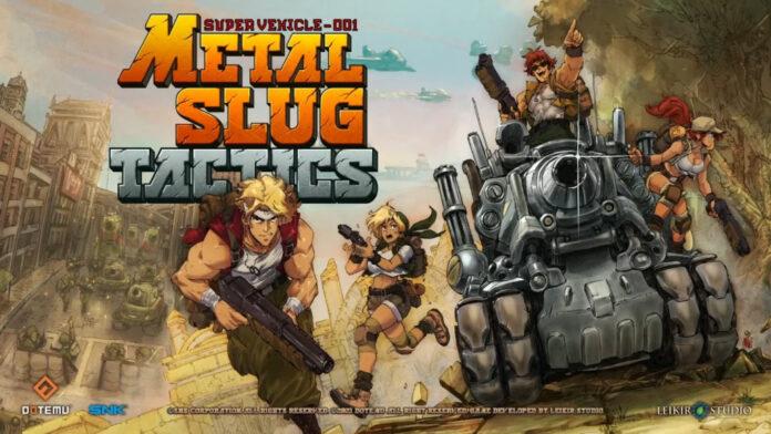 Metal Slug Tactics: date de sortie, détails du gameplay, histoire, etc.